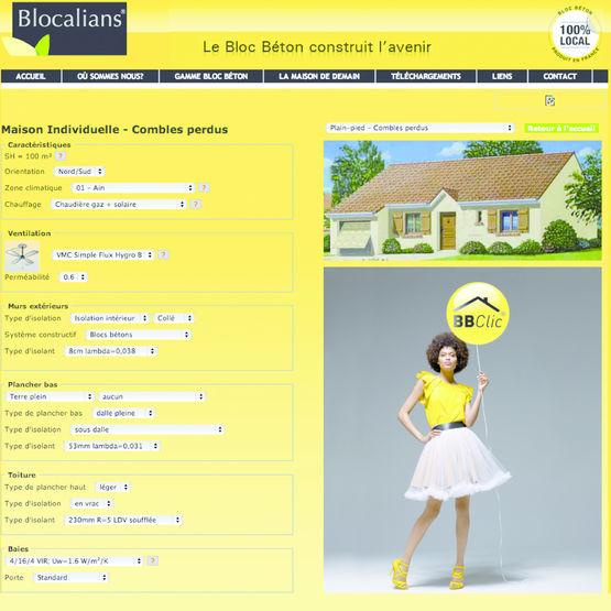 outil d 39 aide pour le diagnostic de performance nerg tique bbclic fib bloc blocalians. Black Bedroom Furniture Sets. Home Design Ideas