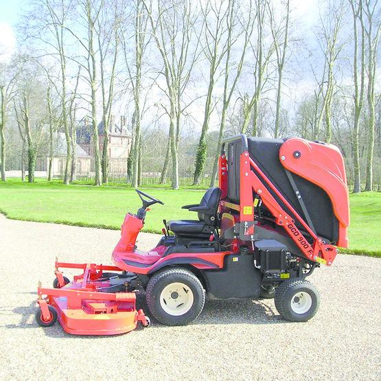 Outil d 39 optimisation pour tondeuse avec bac de ramassage turbine kubota - Ramasse herbe pour tracteur tondeuse ...