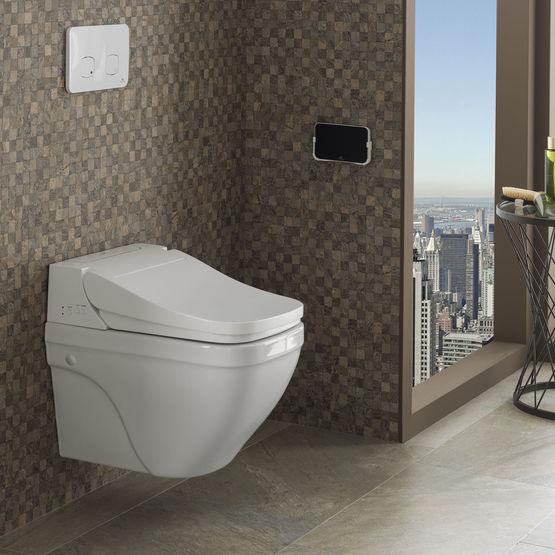 pack complet wc au design compact porcelanosa. Black Bedroom Furniture Sets. Home Design Ideas