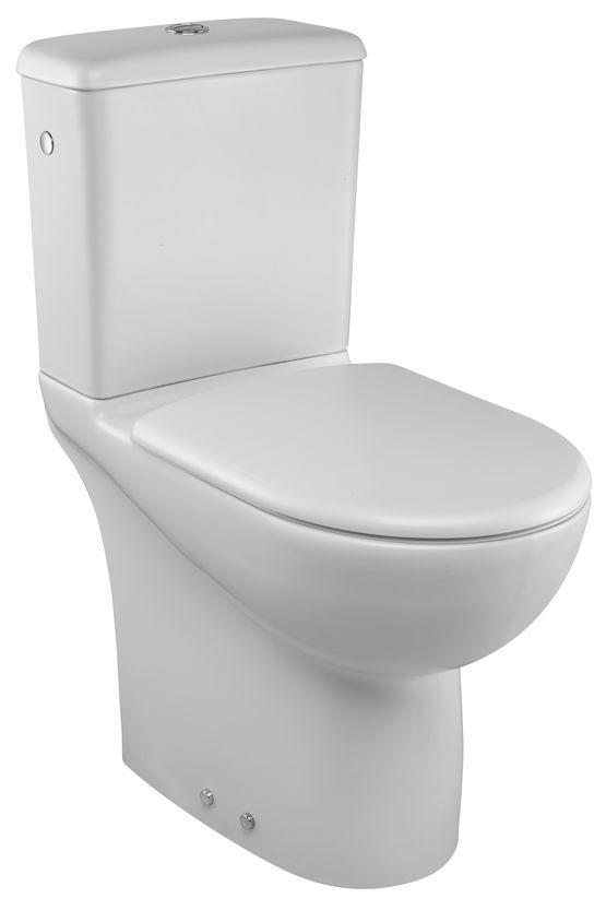 pack wc sur lev avec sortie horizontale travers le mur. Black Bedroom Furniture Sets. Home Design Ideas