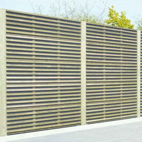 Panneau acoustique en bois classe 4 piveteaubois for Panneau signaletique exterieur