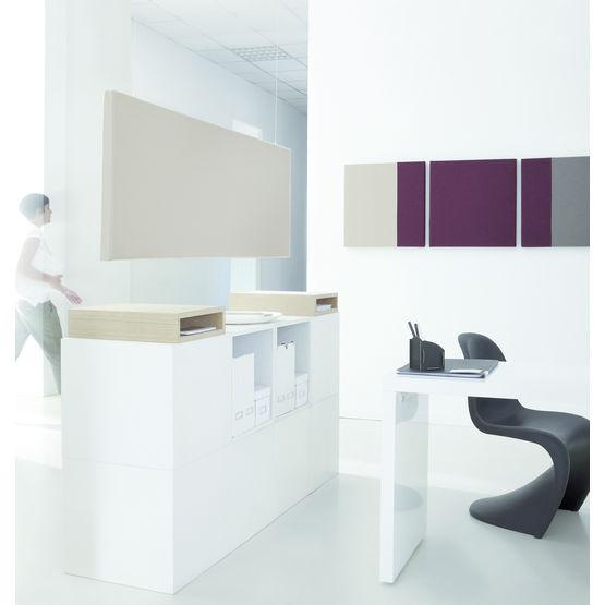 panneau acoustique mural ou poser au plafond panneaux. Black Bedroom Furniture Sets. Home Design Ideas