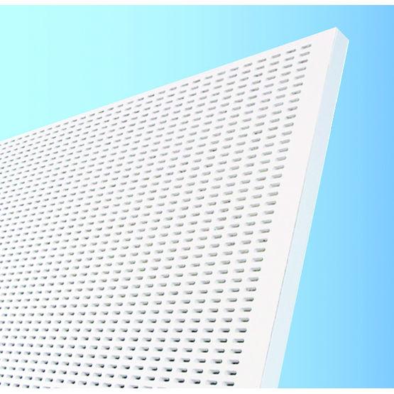 Knauf adit panneau acoustique mural perfor batiproduits for Coller plaque de platre