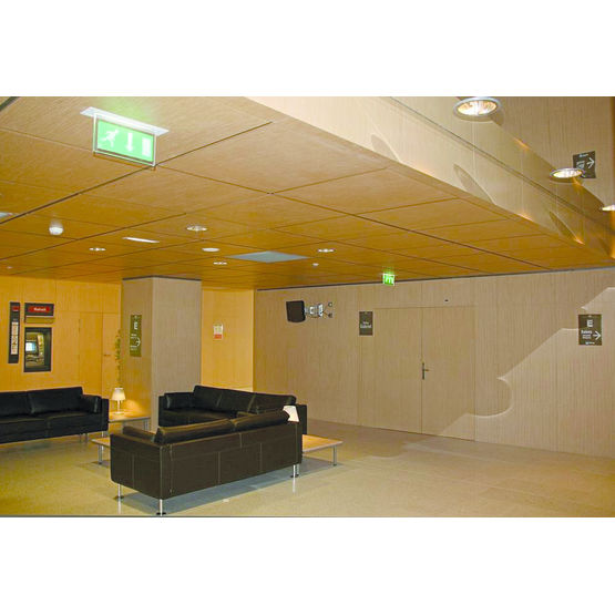 panneau acoustique perfor base de bois pour paroi ou. Black Bedroom Furniture Sets. Home Design Ideas