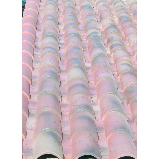 Panneau aspect tuiles canal pour toitures de v randa av composites - Panneau autoportant pour toiture ...