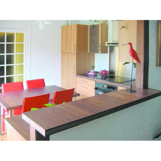 panneau bois assemblage invisible pour plan de travail square line ravier. Black Bedroom Furniture Sets. Home Design Ideas