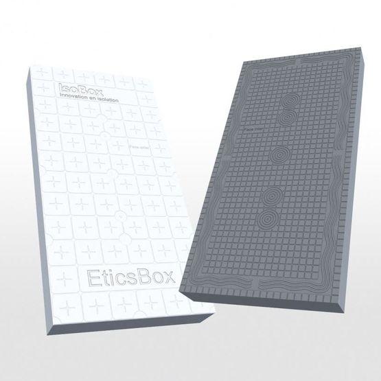 panneau d isolation thermique par l ext rieur avec parement de protection int gr eticsbox. Black Bedroom Furniture Sets. Home Design Ideas