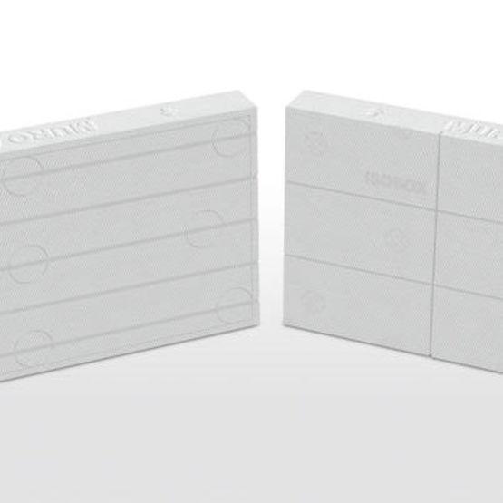 Panneau d 39 isolation thermique par l 39 ext rieur de w m k de condu - Conductivite thermique polystyrene ...