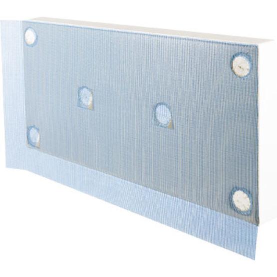 Panneau d 39 isolation thermique par l 39 ext rieur semi fini for Panneau ciment exterieur
