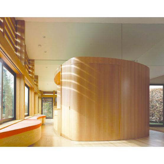 panneau de bois ignifug s pour cloisons et plafonds coillte panel products. Black Bedroom Furniture Sets. Home Design Ideas