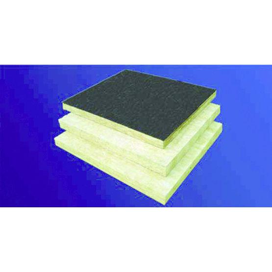 panneau de laine de roche pour toiture en acier bois ou. Black Bedroom Furniture Sets. Home Design Ideas