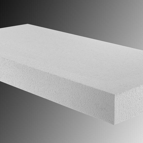 panneau de polystyr ne expans de haute densit et de 0 034 w m k de conductivit thermique. Black Bedroom Furniture Sets. Home Design Ideas