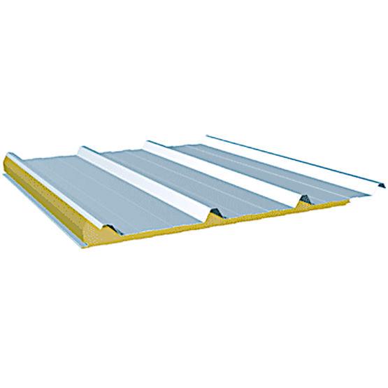 panneau de toiture en acier et laine de roche pour couverture chaude arcelormittal. Black Bedroom Furniture Sets. Home Design Ideas