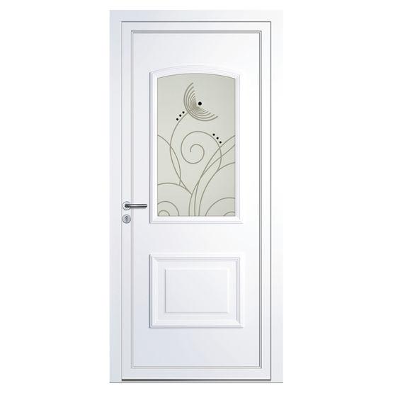 Panneau d coratif classique volma home en pvc pour porte d entr e volma - Remplacement panneau porte pvc ...