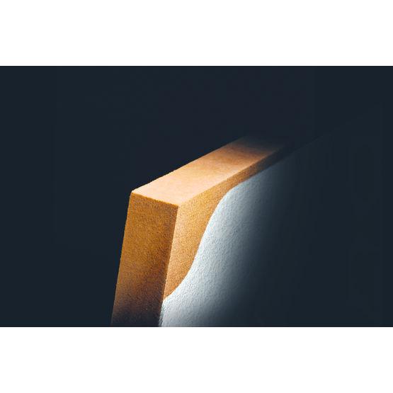 panneau isolant en fibres de bois enduire id q11