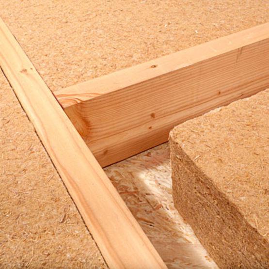 Epaisseur Laine De Bois - Panneau isolant en fibres de bois jusqu'à 200 mm d'épaisseur Isonat by Buitex