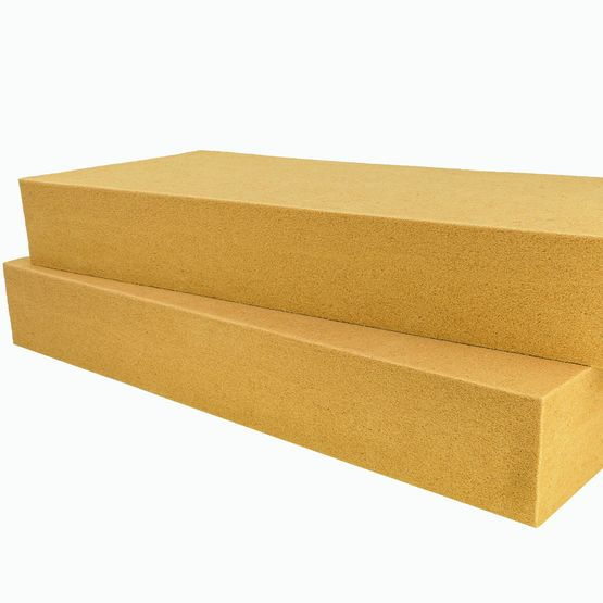 Panneau isolant flexible en fibres de bois certifi acermi for Isolant fibre de bois