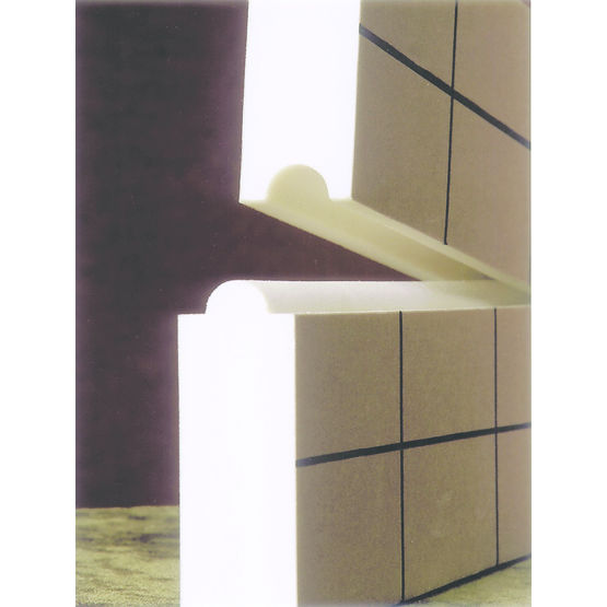 panneau isolant support pour sol chauffant ou. Black Bedroom Furniture Sets. Home Design Ideas