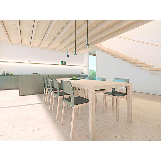 Panneau lamibois en hêtre massif pour aménagement intérieur ...