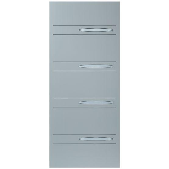 Panneau Pour Porte Dentrée En Aluminium Equinoxe Modèle ORION - Panneau de porte