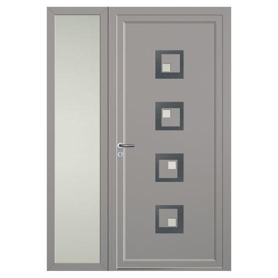 panneau pour porte d entr e en aluminium volma loft alu volma. Black Bedroom Furniture Sets. Home Design Ideas