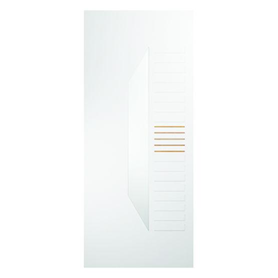Panneau pour porte d 39 entr e pvc panoporte pvc color touch mod le fugue groupe isosta - Remplacement panneau porte pvc ...