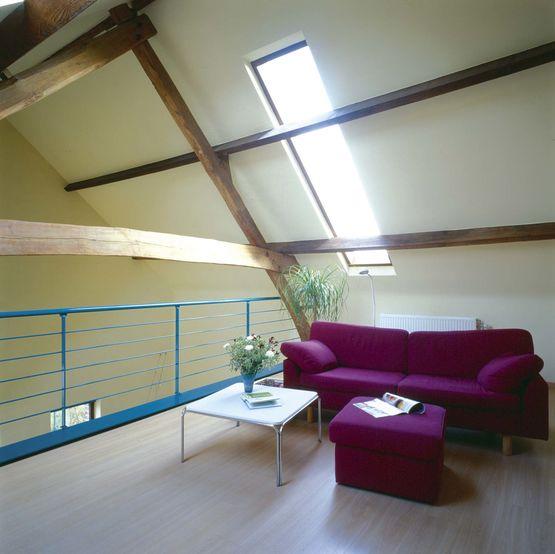 panneau sandwich autoportant de toiture isolant pour toiture rexolight hpu unilin insulation. Black Bedroom Furniture Sets. Home Design Ideas