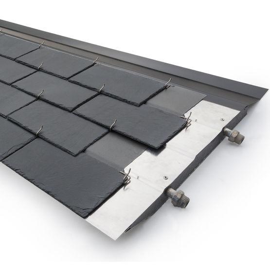 panneau solaire thermique en ardoise naturelle pour ecs et chauffage thermoslate syst me avec. Black Bedroom Furniture Sets. Home Design Ideas