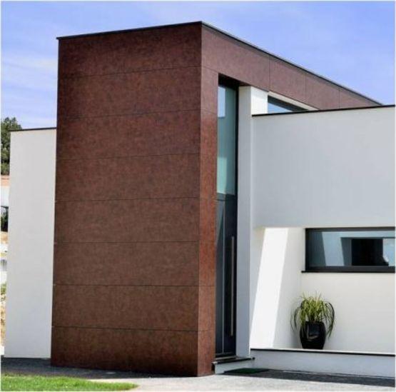 polyrey fa ades panneau stratifi hpl compact pour bardage ext rieur batiproduits. Black Bedroom Furniture Sets. Home Design Ideas