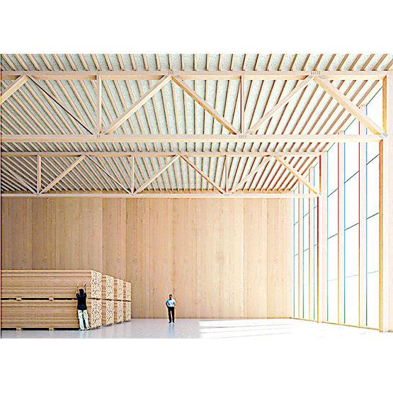 panneau structurel en placage multiplis de h tre massif baubuche lamibois h tre pollmeier. Black Bedroom Furniture Sets. Home Design Ideas