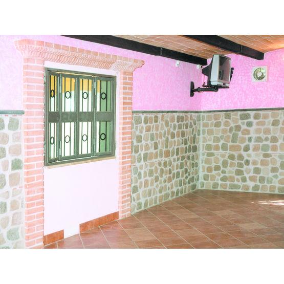 panneaux de parement en pierre reconstitu e domus brocco graniti. Black Bedroom Furniture Sets. Home Design Ideas
