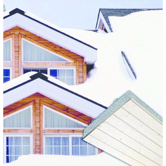 Panneaux de toiture isolants en quatre épaisseurs - Knauf