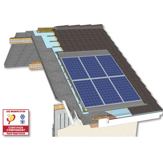 panneaux de toiture isolants porteurs panneau de toiture isolant euromac 2. Black Bedroom Furniture Sets. Home Design Ideas