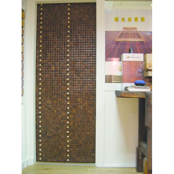 Panneaux d coratifs en noix de coco l 39 atelier des mati res for Panneaux decoratifs