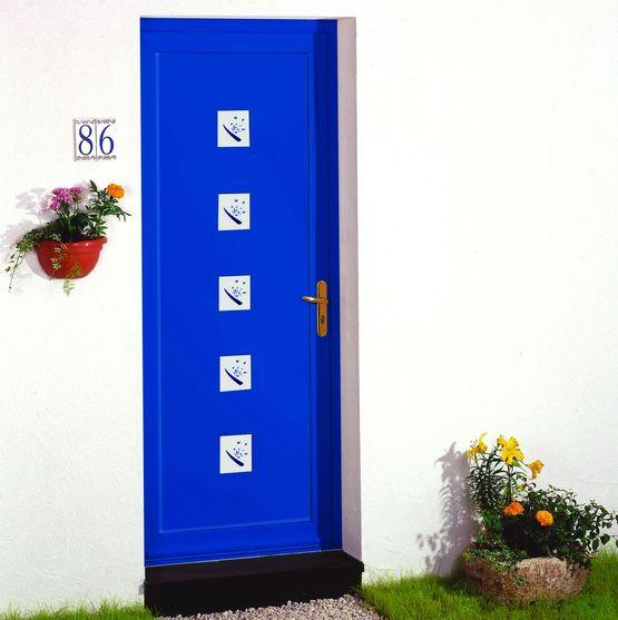panneaux d coratifs pour portes d 39 entr e en aluminium ou pvc euradif. Black Bedroom Furniture Sets. Home Design Ideas