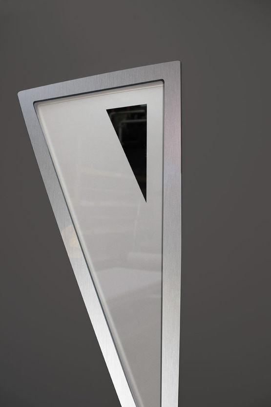 Panneaux d coratifs pour portes d 39 entr e en aluminium ou for Panneaux decoratifs