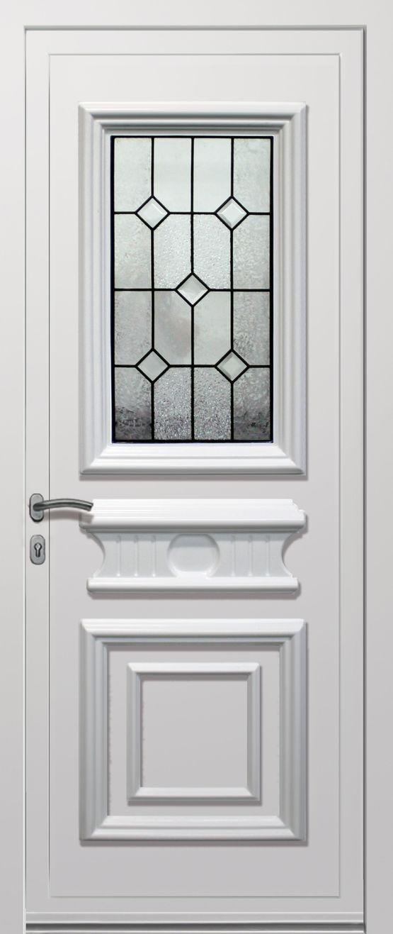 Panneaux d coratifs pour portes d 39 entr e en aluminium ou for Epaisseur porte d entree
