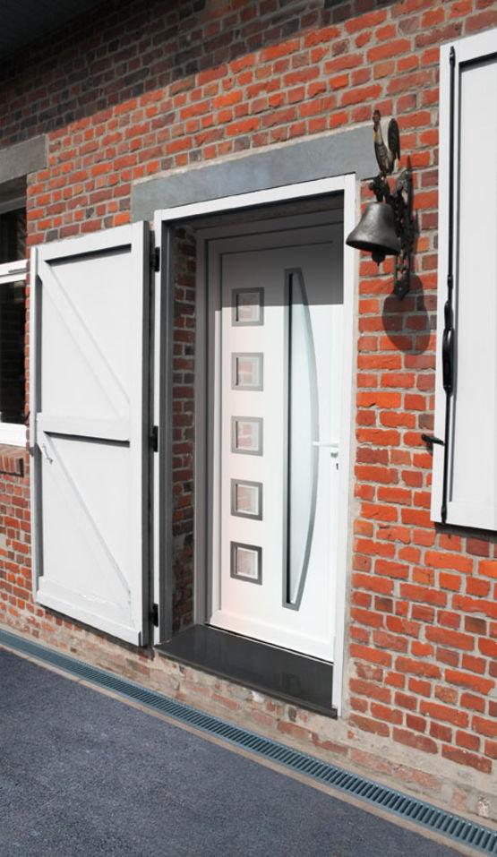 Panneaux d coratifs pour portes d 39 entr e en aluminium ou for Entree pour recevoir
