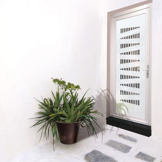 panneaux d coratifs pour portes d 39 entr e en verre. Black Bedroom Furniture Sets. Home Design Ideas