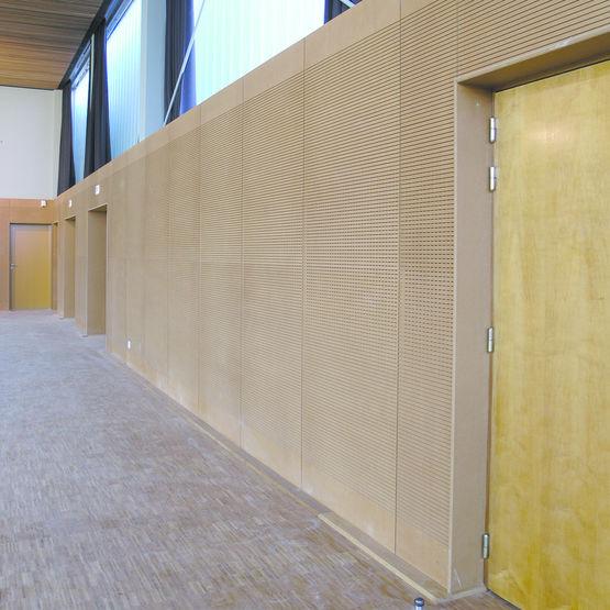panneaux en bois massif rainur s acoustiques pour habillage mural panneaux rainur s. Black Bedroom Furniture Sets. Home Design Ideas
