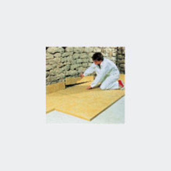 panneaux en laine de roche pour sous couche acoustique de chape flottante domisol lr lv isover. Black Bedroom Furniture Sets. Home Design Ideas