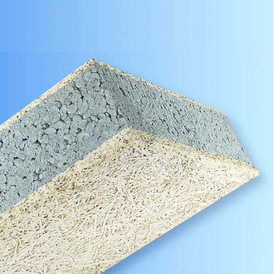 Panneaux isolants à base de fibres de bois et ciment  Knauf ~ Panneau Bois Ciment