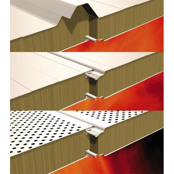 Panneaux isolants m0 pour toiture bardage ou cloison for Fabricant panneau publicitaire exterieur