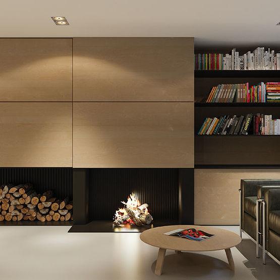 Panneaux plaqués bois d\'aspect contemporain pour aménagement ...
