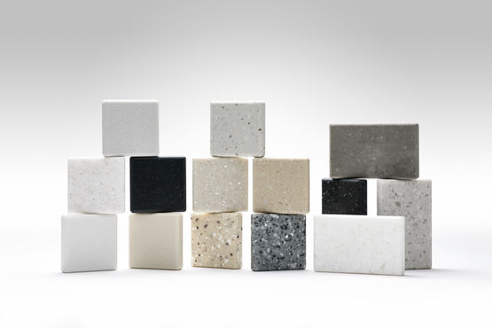panneaux solid surface base de pierre naturelle et. Black Bedroom Furniture Sets. Home Design Ideas