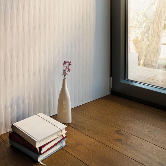 panneaux solid surface textur s base de pierre. Black Bedroom Furniture Sets. Home Design Ideas