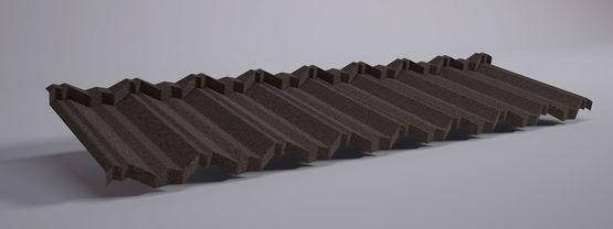 panneaux tuiles m talliques aspect tuile grand moule ahi roofing. Black Bedroom Furniture Sets. Home Design Ideas
