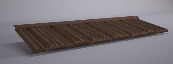 panneaux tuiles m talliques aspect tuile plate et pierre gerard corona ahi roofing. Black Bedroom Furniture Sets. Home Design Ideas