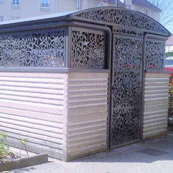 Parc conteneurs pour bacs de 660 litres vivacit for Conteneur pour renovation