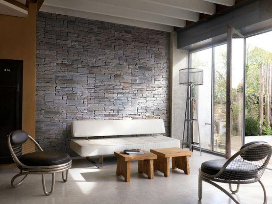 parement mural d 39 aspect pierre s che rocky mountain orsol. Black Bedroom Furniture Sets. Home Design Ideas